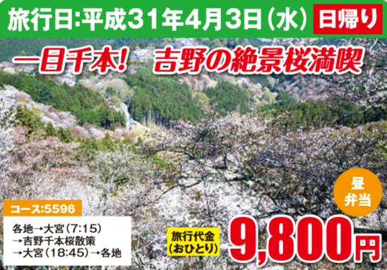 一目千本! 吉野の絶景桜満喫